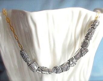 Handmade Tribal Beads <Large Hole> For Necklaces, Charm Bracelets, EUROPEAN Beads Jewellery,  PANDORA Style Jewelry Supply ~ Gypsy Bohemian