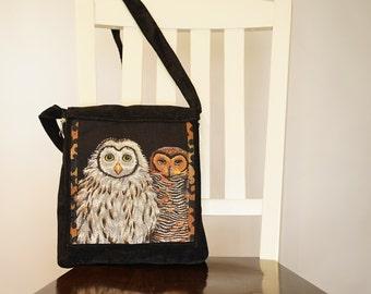 Owl Duo Sasha Purse