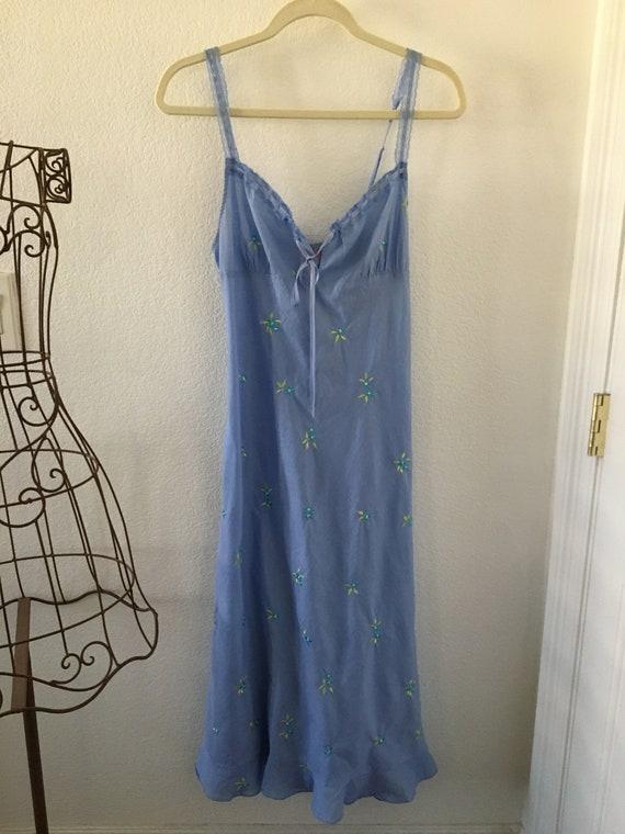 Vintage Victoria's Secret Cotton Nightgown Medium