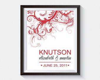 Wedding Gift. Anniversary Gift. Wedding Art. Wedding Announcement. Anniversary Wall Art. Save the Date Print. Engagement Print. Digital File
