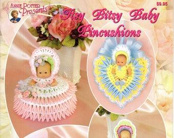 Annie Potter Presents Itsy Bitsy Baby Pincushions CROCHET Pattern