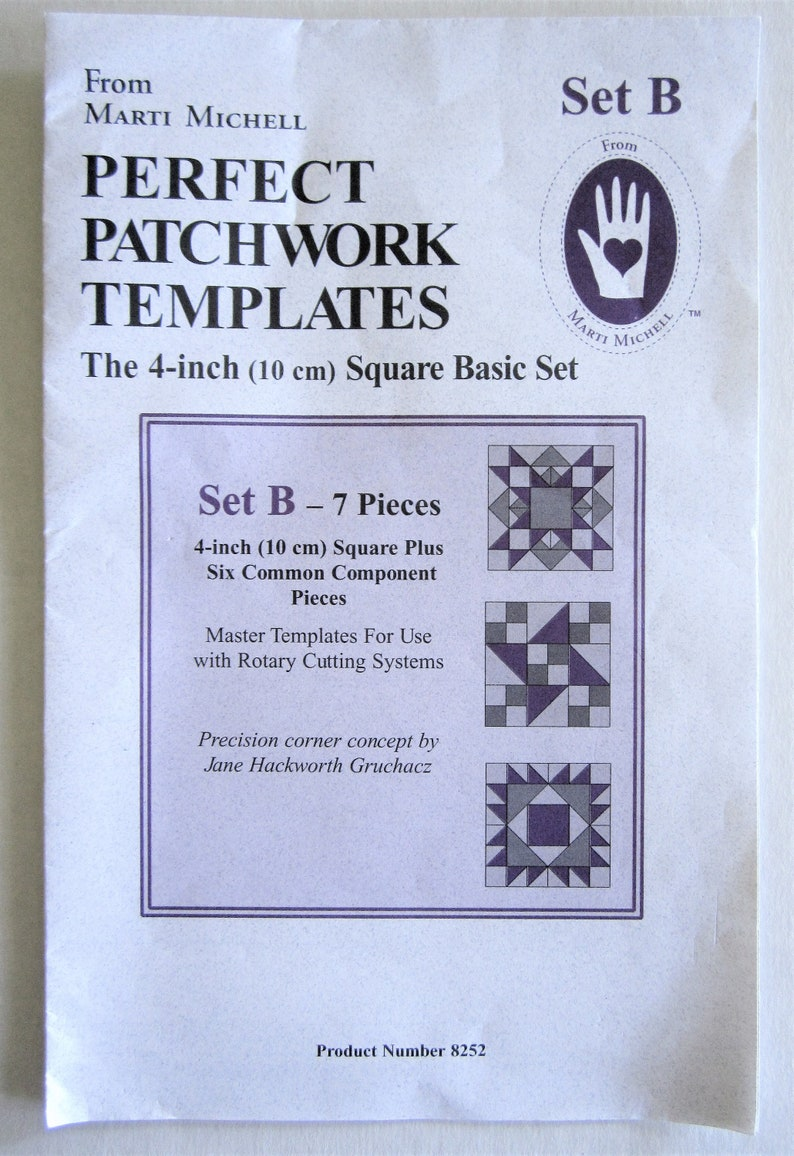 Perfect Patchwork Template-Dresden Plate Package of Four