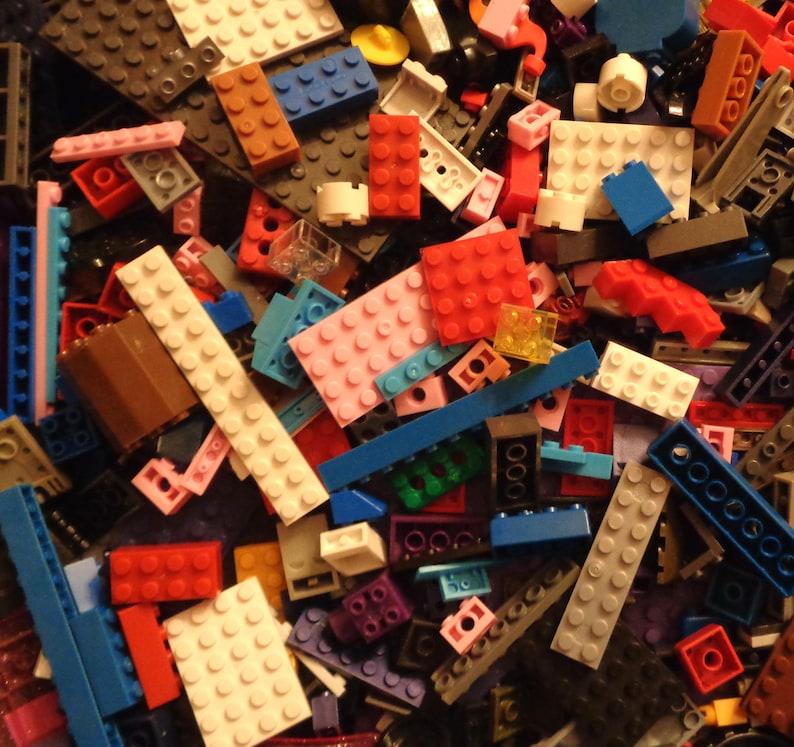 parts /& Pieces BULK LOT! 1 Pound compatible building Blocks