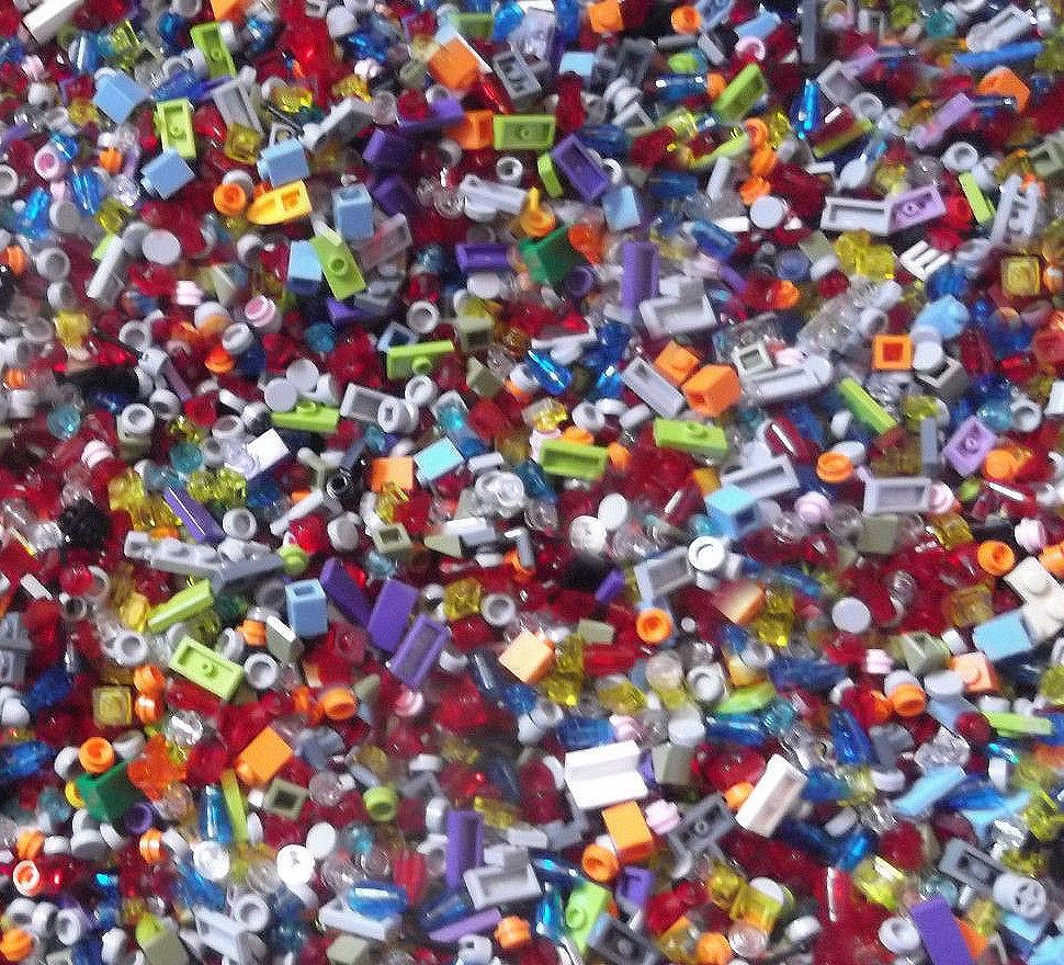 1000 petits blocs lego pi ces lot de pi ces en vrac etsy. Black Bedroom Furniture Sets. Home Design Ideas