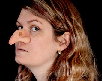 Witch Nose Prosthetic - MADE TO OR