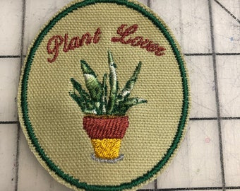 Plant Lover Patch Green or Violet