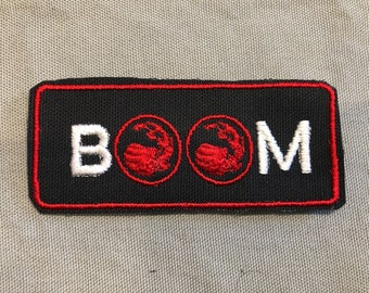 Magic the Gathering patch Red Mana, MTG, BOOM