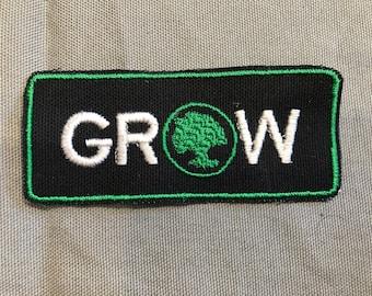 Magic the Gathering patch Green Mana, MTG, GROW