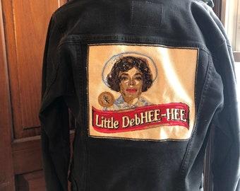 CUSTOM embroidery patch for back of denim jacket DEPOSIT
