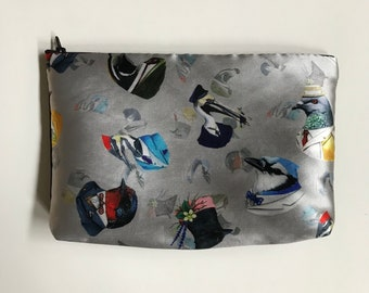 Dapper Bird Clutch Bag