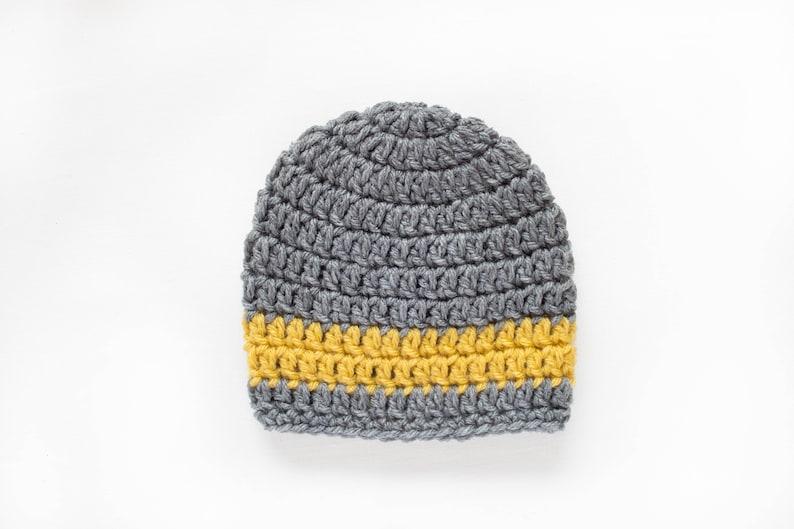 8d63d8062ec2 Boys Hat   Crochet Boys Hat   Boys Beanie   Baby Boy Hat