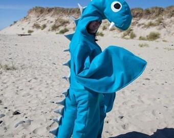 Adult Loch Ness Sea Monster Halloween Nessie Costume Custom Size