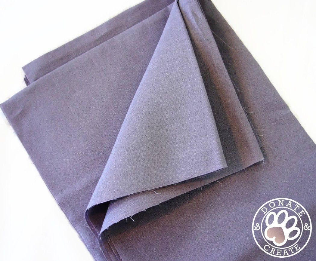 Linen fabric remnants! Pure linen flax large off-cut for DIY home decor  sewing
