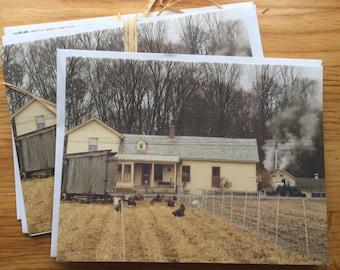 Sugaring time - Photo Notecard - Free Shipping