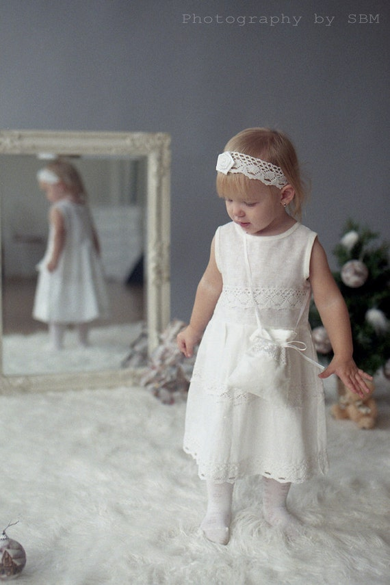 outfit costume Christening dress girl and bag tote dress Girl jacket headband for 4 pieces girl jacket christening Flower Girl qv4YW
