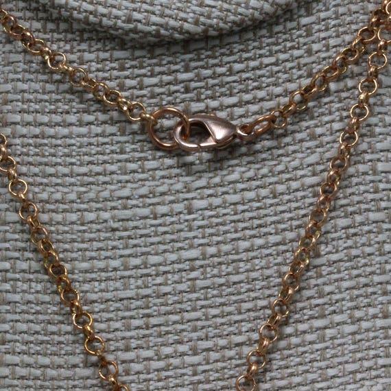 "1959 IRISH FARTHING COIN Pendant on a 24/"" .925 Silver ITALY WHEAT SPIGA Chain."