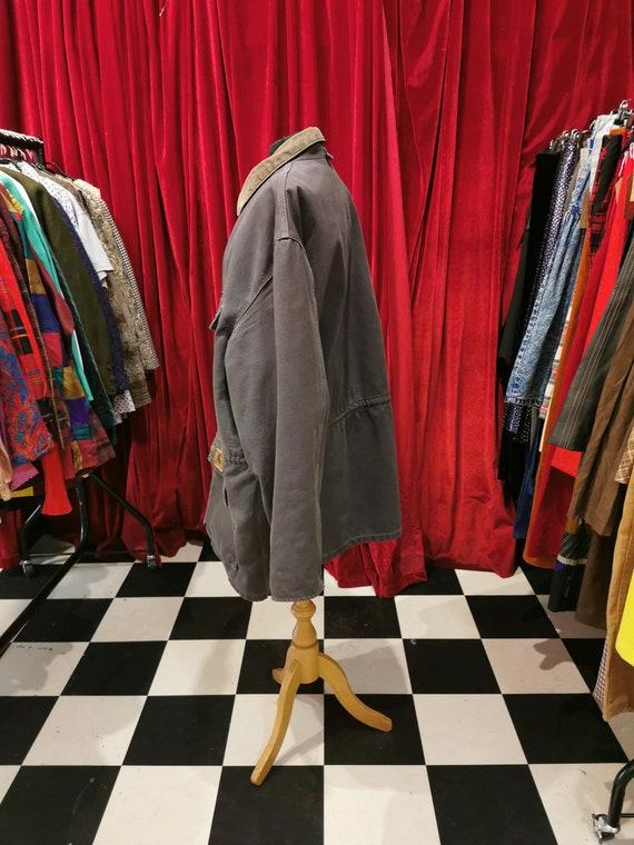 Vintage 1980s Distressed Carhartt Chore Workwear … - image 4