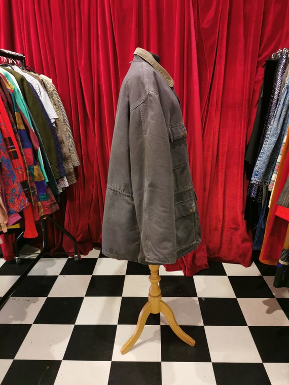 Vintage 1980s Distressed Carhartt Chore Workwear … - image 6