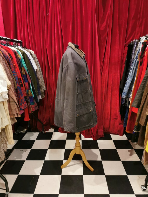 Vintage 1980s Distressed Carhartt Chore Workwear … - image 3