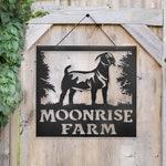 Boar Goat Farm Sign
