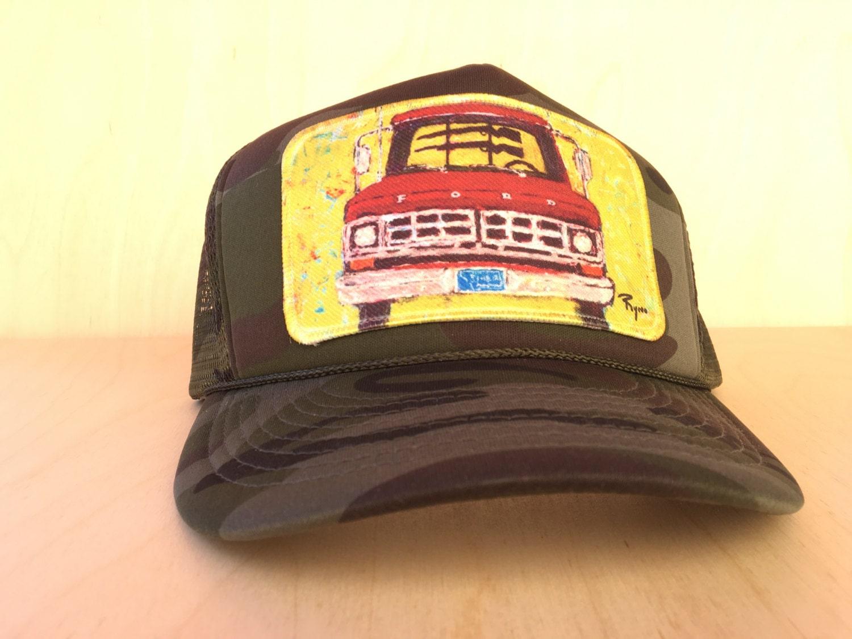 Ford with Guns Trucker Hat Camo Baseball Cap Hat Patch  5cc49d4e7ae