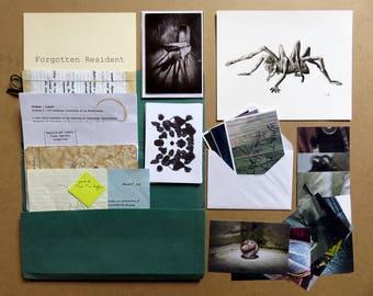 Stephen file and print - horror art, horror print, monster art, halloween art, horror collectable, dark fantasy art, giclee print, creature