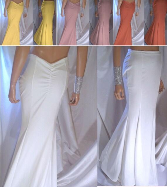 ba4573f002 Wholesale 10 Women's Maxi Skirts Mermaid Maxi Skirt | Etsy