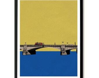 Lambeth Bridge, London Wall Art Print