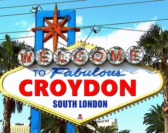 Welcome to Fabulous Croydon print