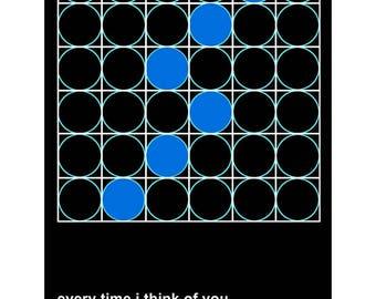 New Order Bizarre Love Triangle inspired Art Print
