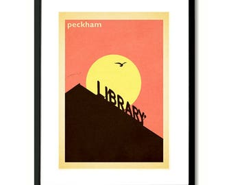 Peckham South London Wall Art Print