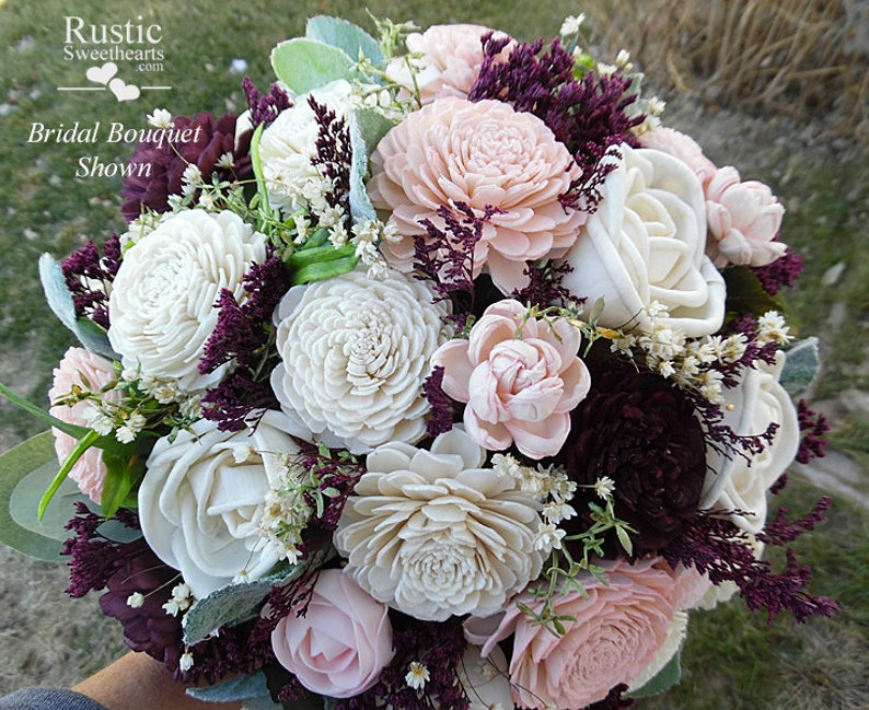 7c53b091f4c Sola Flower Bridal Bridesmaid   Flower Girl Bouquets Sola