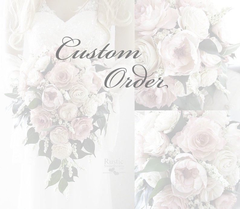 Custom order for Sarah  Cottage Rose Collection  Light Dusty image 0