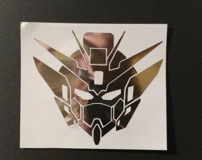 Gundam decal for car window, water bottles and more.