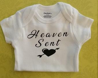 Heaven Sent onesie, Baby 100% cotton Onesie®
