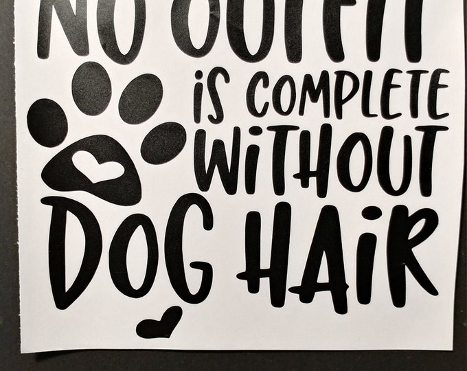 Dog lover car decal, sticker, wall art
