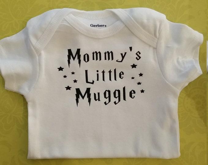 Mommies Muggle Onesie®, 100% cotton, custom onesie