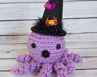 Amigurumi Octopus Doll Little Witch