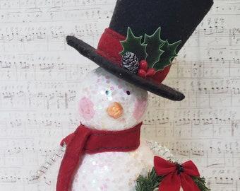 Mr. Snow Christmas Decoration Ornament