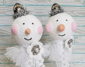 Snow Buddies Set 3 Christmas Decoration Holiday Ornament