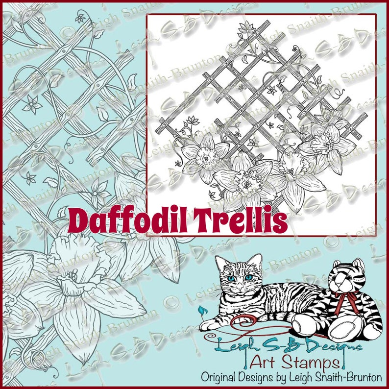 Daffodil Trellis  a beautiful Spring floral design by image 0