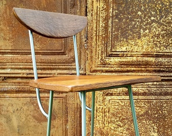 Modern Rustic Counter/Bar Stool - Choose Seat Heigth & Color /FREE SHIPPING
