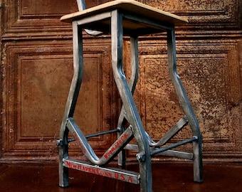 Industrial Metal Counter/ Bar Stool - Choose Height
