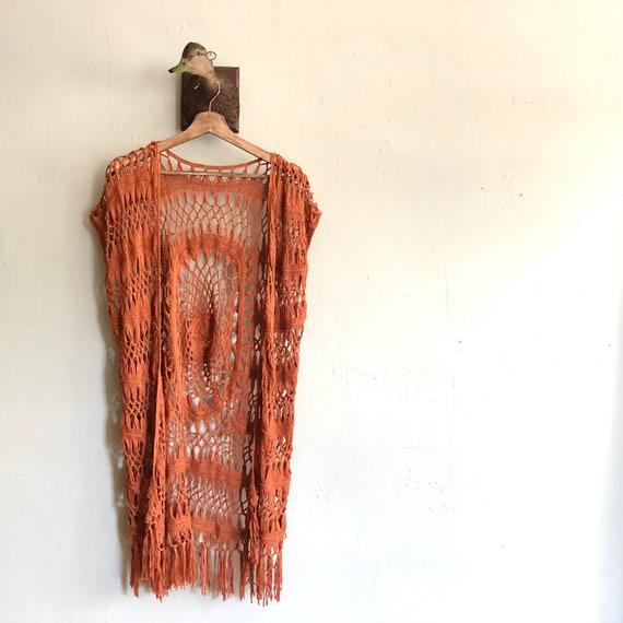 Crochet Duster Robe - image 3