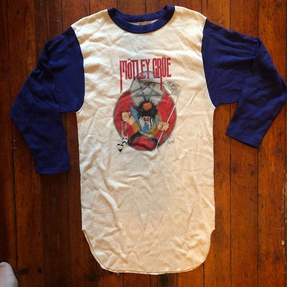 Motley Crue Baseball Raglan