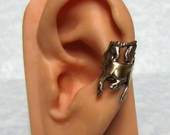 Ear Cuff Earrings Shooting star Ear Pin Climber earrings Minimalist Ear wrap Bohemian Jewelry Handmade EP002H