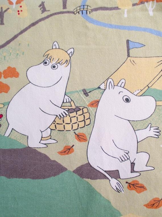 nursery fabric children used fabric Moomin  fabric cotton 41.73x18.89 Satumuumi Fairy Tale 106cm,48cm