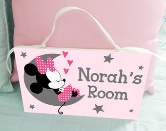 Minnie Mouse Room Decor For Babies  from i.etsystatic.com