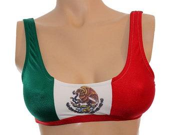 88326c83d6 Flag - Mexico - Basic Sport Top