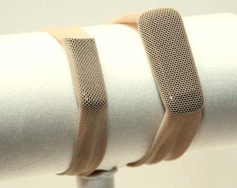 Mesh Beige - Fitness Band for Step Trackers - Spandex Bracelet